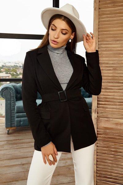 Пиджак из тиара класса Lux №029 черный